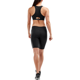 2XU Mid-Rise Compression Shorts Women, czarny